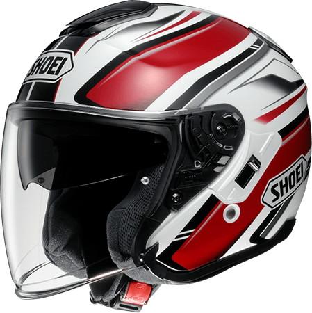 SHOEI ショウエイJ-Cruise PASSE [ジェイ-クルーズ パッセ TC-1 RED/WHITE] ヘルメット