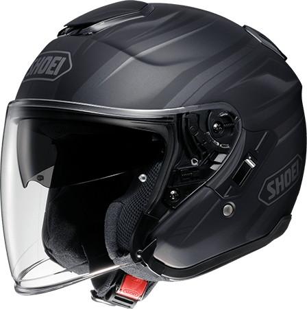 SHOEI ショウエイJ-Cruise PASSE [ジェイ-クルーズ パッセ TC-5 BLACK/SILVER マットカラー] ヘルメット