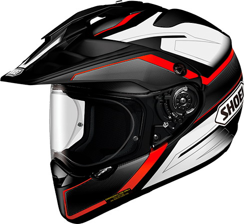 SHOEI ショウエイHORNET-ADV SEEKER [ホーネット-エーディーヴイ シーカー TC-1 RED/BLACK] ヘルメット