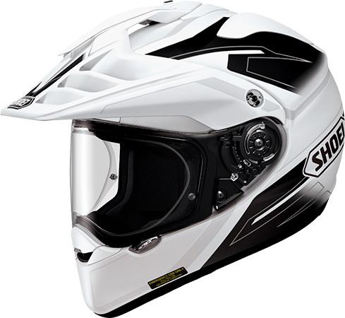 SHOEI ショウエイHORNET-ADV SEEKER [ホーネット-エーディーヴイ シーカー TC-6 WHITE/BLACK] ヘルメット