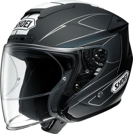 SHOEI ショウエイJ-FORCE IV MODERNO [ジェイ-フォース フォー モデルノ TC-5 BLACK/WHITE マットカラー] ヘルメット
