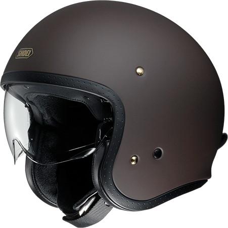 SHOEI ショウエイJ・O [ジェイ・オー マットブラウン] ヘルメット