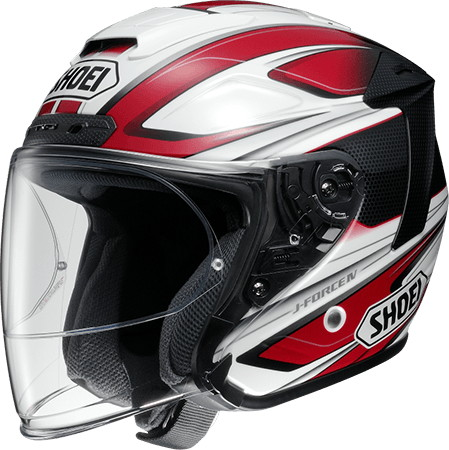 SHOEI ショウエイJ-FORCE IV BRILLER [ジェイ-フォース フォー ブリエ TC-1 RED/WHITE] ヘルメット