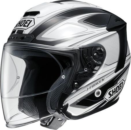 SHOEI ショウエイJ-FORCE IV BRILLER [ジェイ-フォース フォー ブリエ TC-6 WHITE/BLACK] ヘルメット