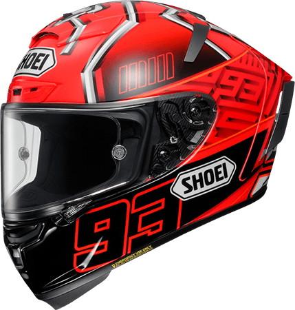 SHOEI ショウエイX-14 MARQUEZ4 [X-FOURTEEN エックス-フォーティーン マルケス4 TC-1 RED/BLACK] ヘルメット