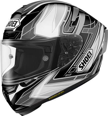 SHOEI ショウエイX-14 ASSAIL [X-FOURTEEN エックス-フォーティーン アセイル TC-5 BLACK/SILVER] ヘルメット