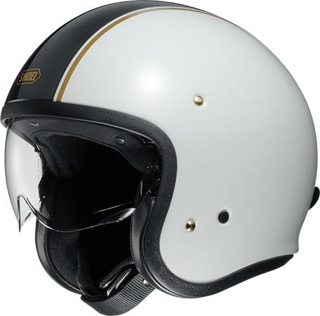 SHOEI ショウエイJ・O CARBURETTOR [ジェイ・オー キャブレター TC-6 WHITE/BLACK] ヘルメット
