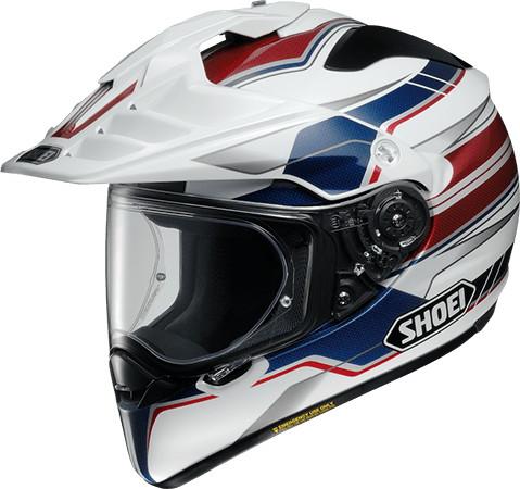 SHOEI ショウエイHORNET-ADV NAVIGATE [ホーネット-エーディーヴイ ナビゲイト TC-2 BLUE/WHITE] ヘルメット