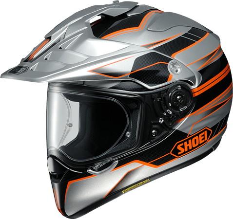 SHOEI ショウエイHORNET-ADV NAVIGATE [ホーネット-エーディーヴイ ナビゲイト TC-8 ORANGE/SILVER] ヘルメット