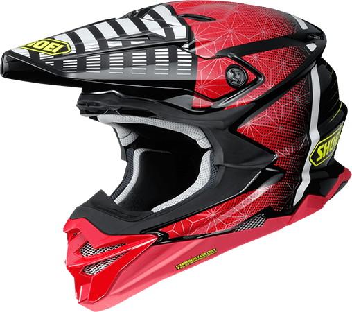 SHOEI ショウエイVFX-WR BLAZON [ブイエフエックス-ダブリューアール ブラゾン TC-1 RED/BLACK] ヘルメット