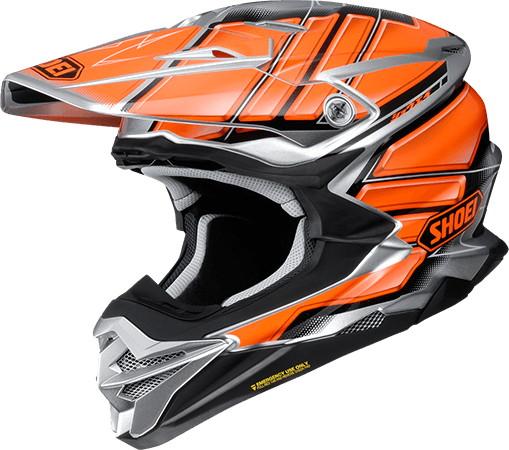 SHOEI ショウエイVFX-WR GLAIVE [ブイエフエックス-ダヴリューアール グレイヴ TC-8 ORANGE/SILVER] ヘルメット