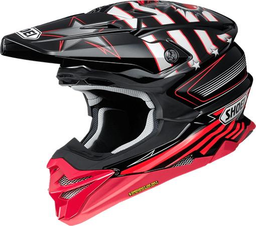 SHOEI ショウエイVFX-WR GRANT3 [ブイエフエックス-ダブリューアール グラント3 TC-1 RED/BLACK] ヘルメット