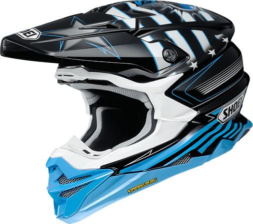 SHOEI ショウエイVFX-WR GRANT3 [ブイエフエックス-ダブリューアール グラント3 TC-2 BLUE/BLACK] ヘルメット