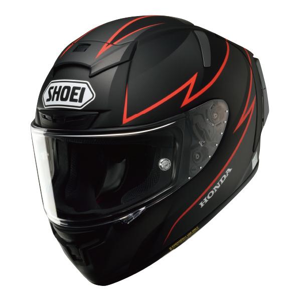 SHOEI ショウエイHonda × X-14 [Honda × X-FOURTEEN ホンダ×エックスフォーティーン フラットブラック] ヘルメット