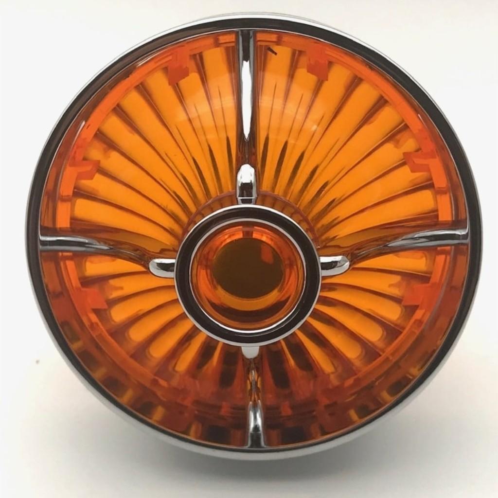 Big Turbine Lens ウィンカーベゼル&レンズ(フラット用)