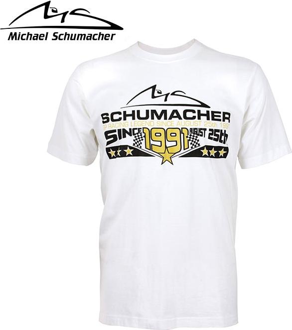 Motorimoda モトーリモーダ【Michael Schumacher:ミハエル シューマッハ】シューマッハ 25th August 1991 Tシャツ