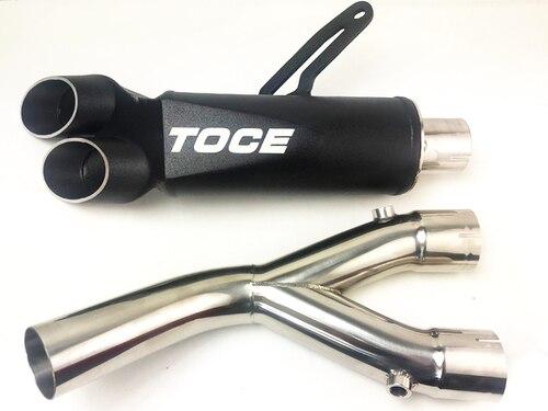 TOCE トゥースRazor Tip 3/4 スリップオンマフラー