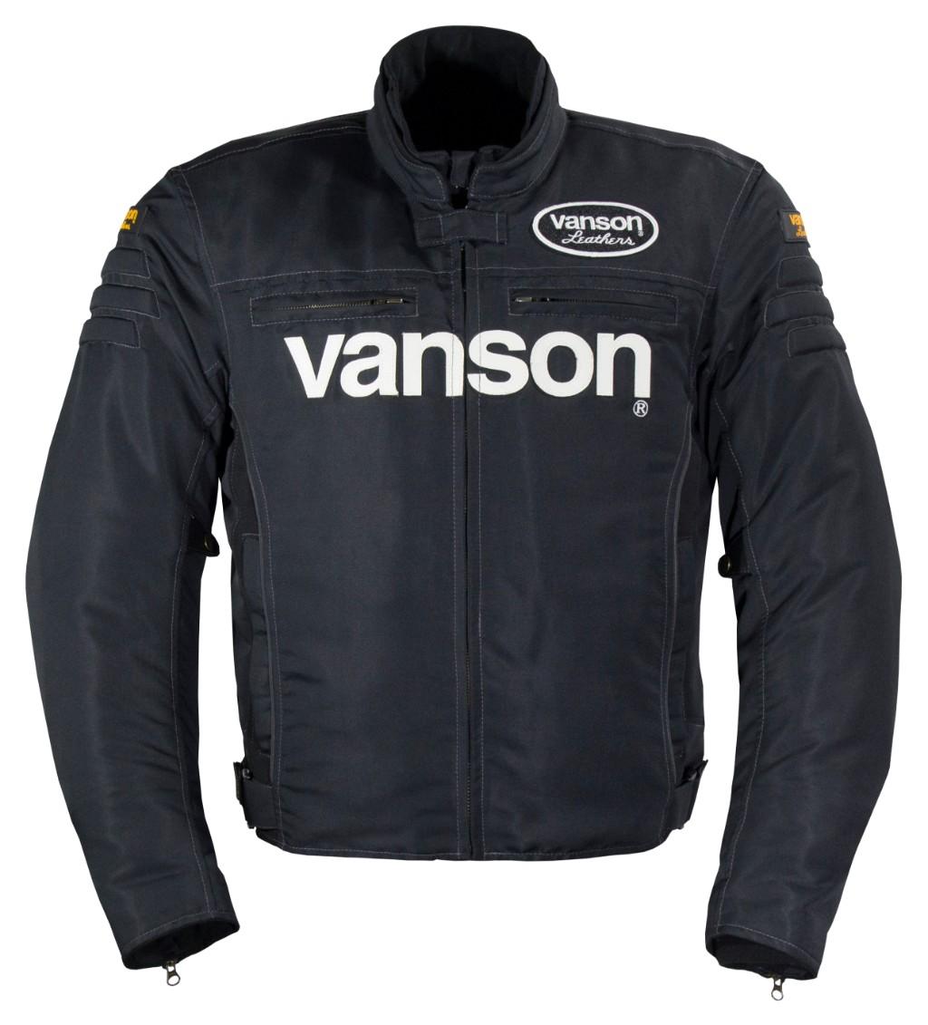 VANSON バンソンナイロンジャケット