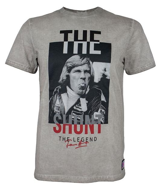 Motorimoda モトーリモーダ【James Hunt:ジェームスハント】The Shunt Tシャツ