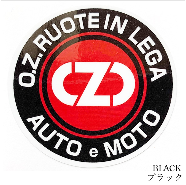 Motorimoda モトーリモーダ【OZ Racing:OZレーシング】OZ RUOTE ロゴステッカー