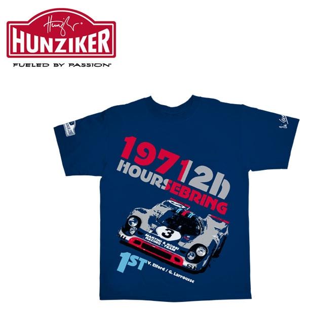 Motorimoda モトーリモーダ【Hunziker Apparel:フンツィカー アパレル】VIC ELFORD SEBRING 71 Tシャツ