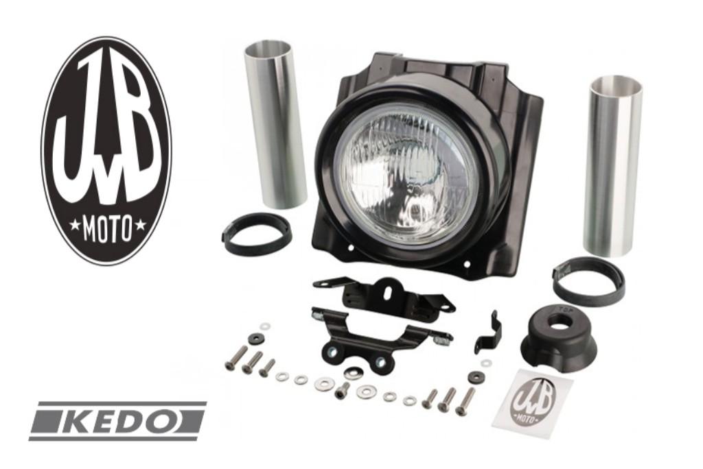 JvB Moto JvBモト【KEDO】ヘッドライト&カバーキット(H4バルブ)