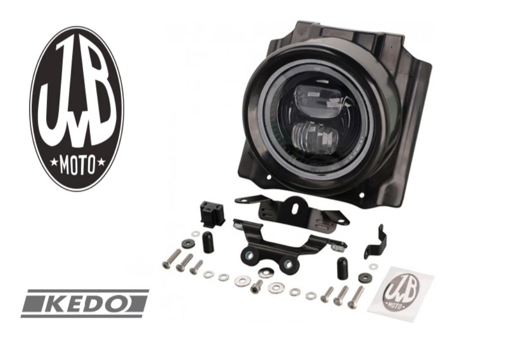 JvB Moto JvBモト【KEDO】LEDヘッドライト&カバーキット