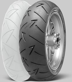 ContiRoadAttack2 【180/55ZR17(73W)】 コンチロードアタック2 タイヤ
