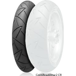Continental コンチネンタルContiRoadAttack2 CR 【110/80 ZR18 M/C (58W) TL】 コンチロードアタック2 タイヤ