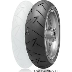 ContiRoadAttack2 CR 【130/80 R18 M/C 66V TL】 コンチロードアタック2 タイヤ
