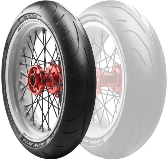 AVON エイボンAV79 3D Ultra Sport【120/70ZR17(58W)】ウルトラ スポーツ タイヤ
