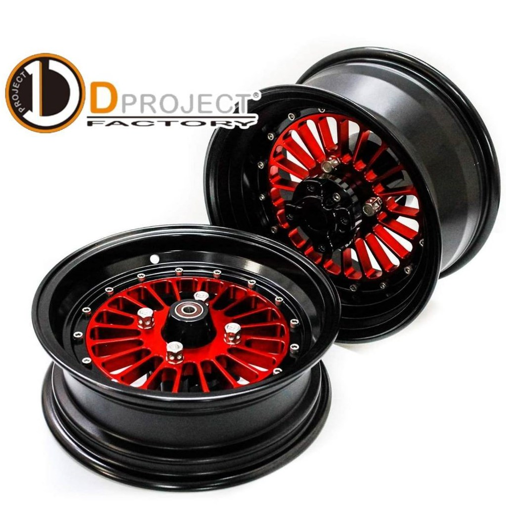 Wheel Kit 【Twenty Stalk】 F.12×4J & R.12×6J 【ABS】