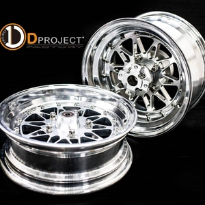 Wheel Kit 【Sun Flower】 F.12×3J & R.12×4J 【ABS】