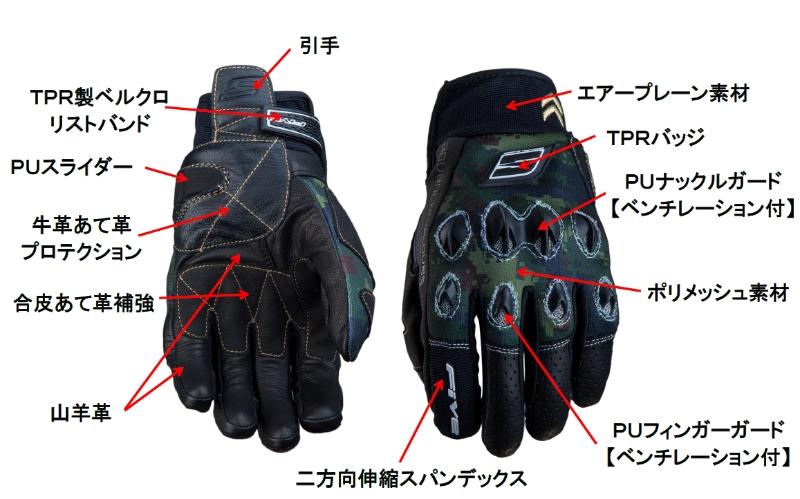 【FIVE】STUNT防摔手套 - 「Webike-摩托百貨」