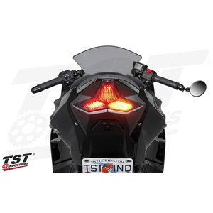 PROGRAMMABLE AND SEQUENTIAL LED INTEGRATED TAIL LIGHT