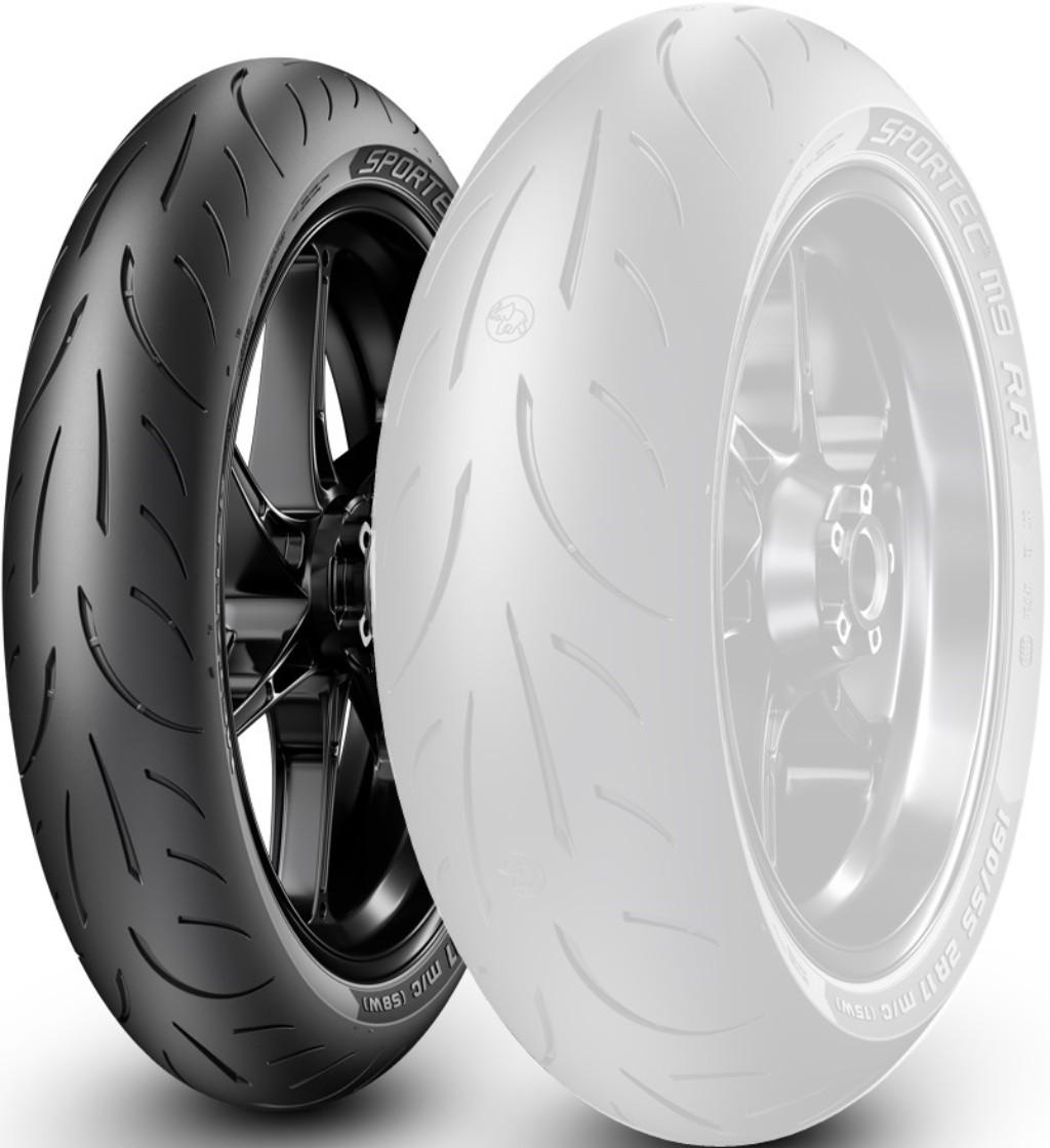 SPORTEC M9 RR【110/70ZR17M/C 54W TL】スポルテック タイヤ