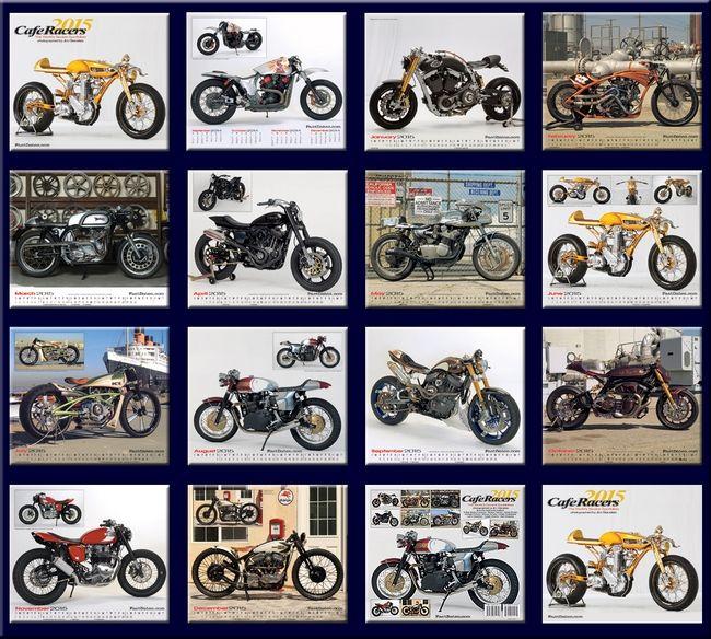 【ODAX】ODAX 2015年月曆 - 「Webike-摩托百貨」
