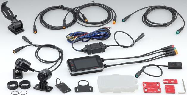 KIJIMA キジマドライブレコーダー デュアルカメラ 1080J FHD&FHD【ドラレコ】