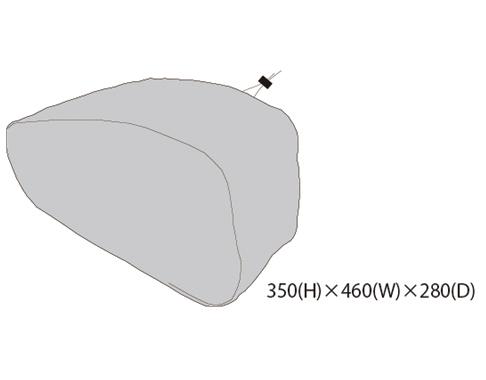 【TANAX motofizz】右防雨罩 - 「Webike-摩托百貨」