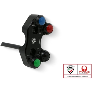 CNC Racing CNCレーシングRight handlebar switch Ducati - OEM and RCS Brembo brake master cylinder Pramac racing Limited Edition