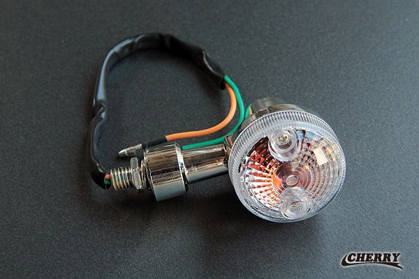 【CHERRY】Shorty GS方向燈 透明燈殼 - 「Webike-摩托百貨」