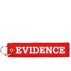 MCS エムシーエスkeychain red Evidence