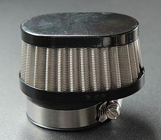 【CHERRY】Power Filter 不銹鋼網黒 口徑50 Miri Oval 短型 - 「Webike-摩托百貨」