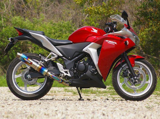 【MotoGear】CBR250R(MC41) 鈦合金排氣管尾段 - 「Webike-摩托百貨」