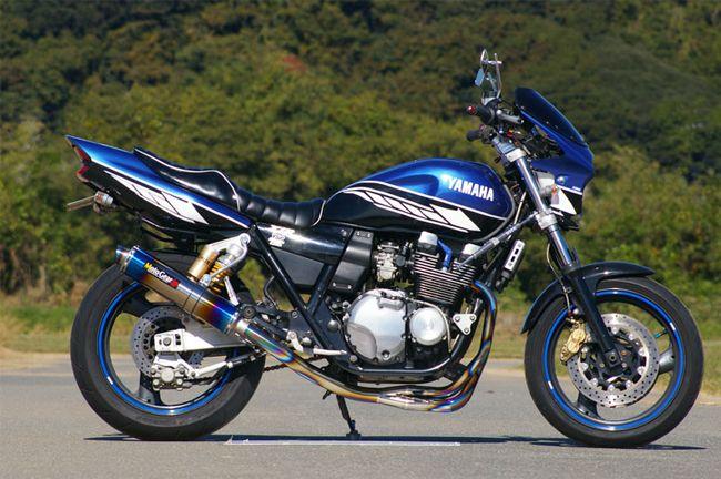 【MotoGear】93-00Model XJR400 XJR400R 鈦合金全段排氣管  - 「Webike-摩托百貨」