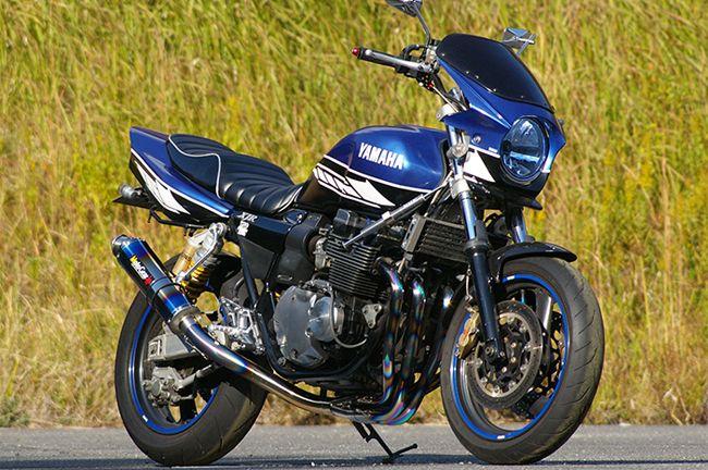 【MotoGear】XJR400 XJR400R Special Edition  鈦合金全段排氣管  (附腳踏後移套件) - 「Webike-摩托百貨」