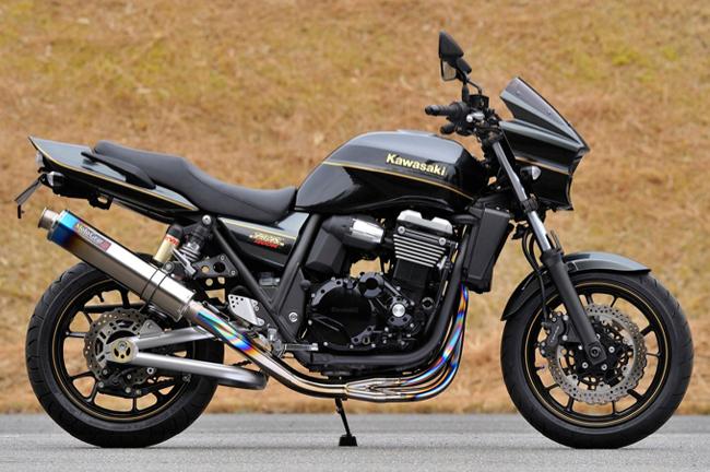 【MotoGear】ZRX1200DAEG鈦合金手工彎管全段排氣管  - 「Webike-摩托百貨」