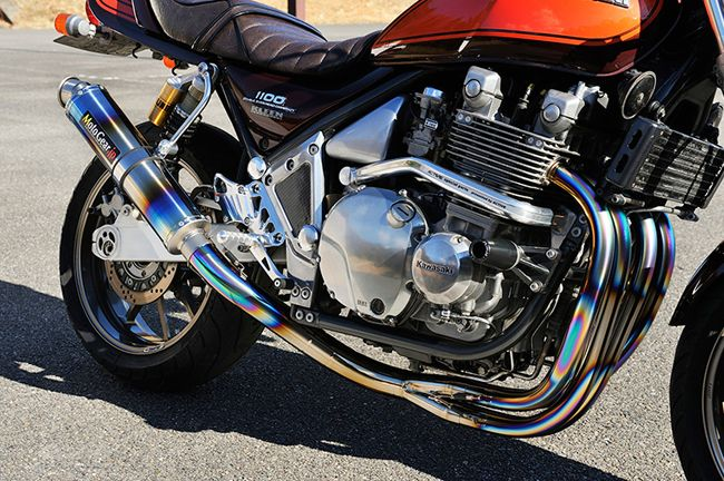 【MotoGear】KAWASAKI Zephyr1100 Center collect SPL (Special Edition) 競賽用腳踏後移套件 - 「Webike-摩托百貨」