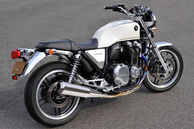 【MotoGear】CB1100 Megaphone 手工彎管加工鈦合金排氣管 - 「Webike-摩托百貨」