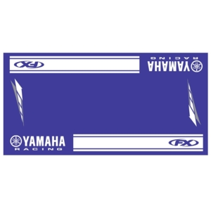 US YAMAHA 北米ヤマハ純正アクセサリーYamaha Racing Bike Mat by Factory Effex
